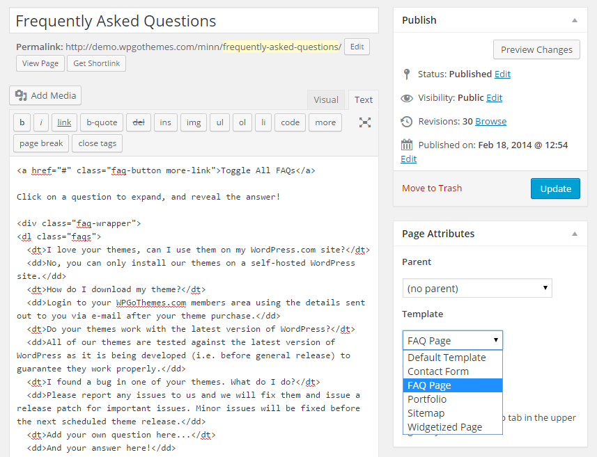 How To Add An Animated FAQ To Any WordPress Site Without A Plugin